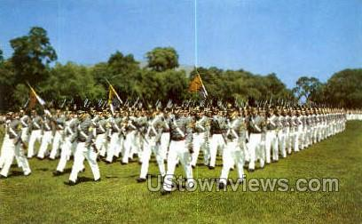 The Corps on Parade - West Point, New York NY Postcard
