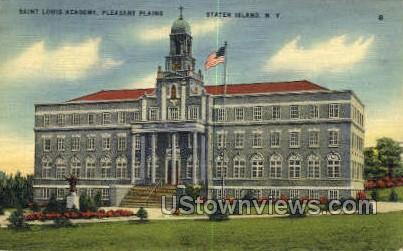 Saint Louis Academy - Staten Island, New York NY Postcard