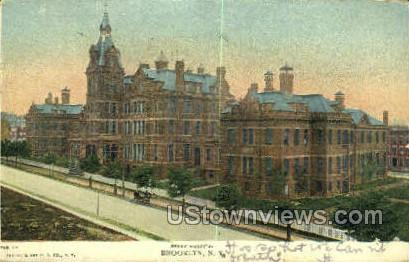 Seney Hospital - Brooklyn, New York NY Postcard