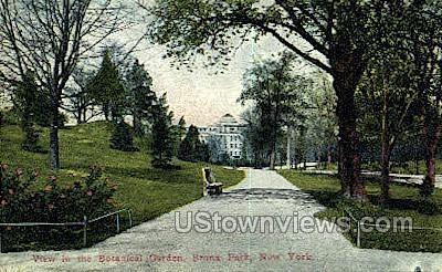 Botanical Gardens - Bronx Park, New York NY Postcard