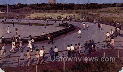 Rollerskating Rink, Jones Beach - Long Island, New York NY Postcard