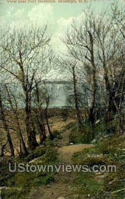 Fort Hamilton - Brooklyn, New York NY Postcard