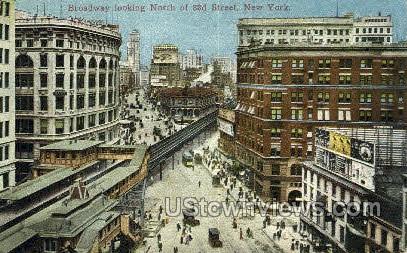Broadway - New York City Postcards, New York NY Postcard