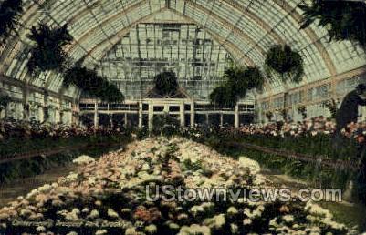 Conservatory, Prospect Park - Brooklyn, New York NY Postcard