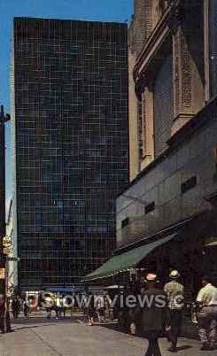 Tishman Bldg, Lafayette Square - Buffalo, New York NY Postcard