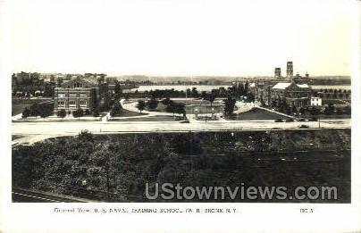 U.S. Naval Training School - Bronx, New York NY Postcard