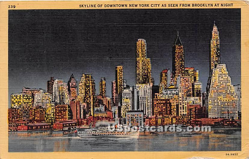 Brooklyn - New York City Postcards, New York NY Postcard