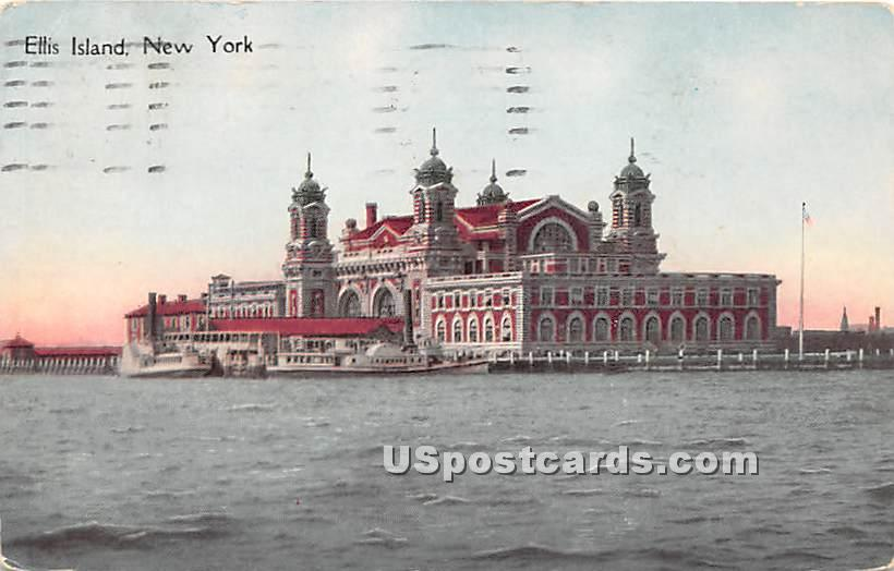 Ellis Island - New York City Postcards, New York NY Postcard