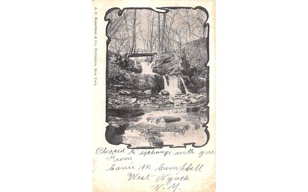 Crumbies Glen Nyack, New York Postcard