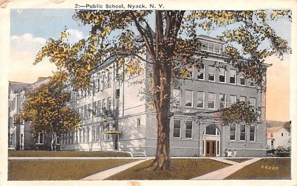 Public School Nyack, New York Postcard