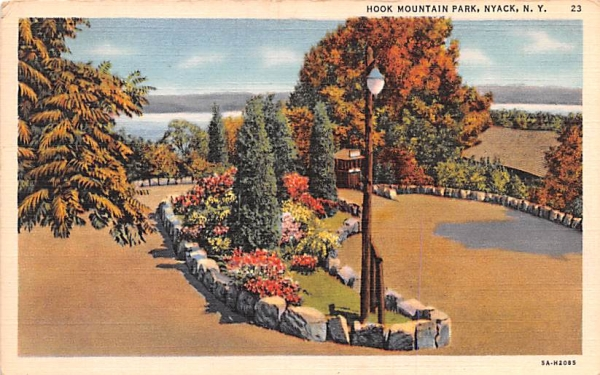 Hook Mountain Park Nyack, New York Postcard