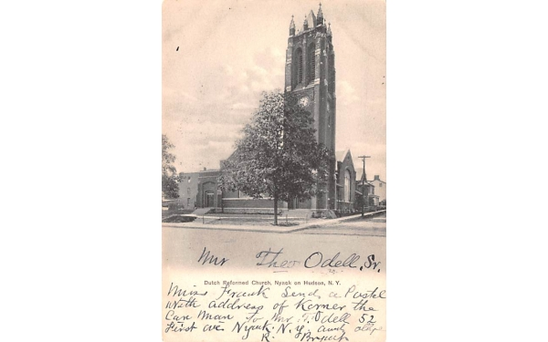 Dutch Reformed Church Nyack, New York Postcard