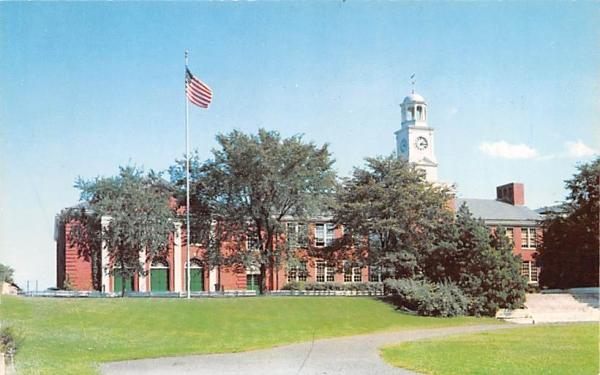 Nyack's Ultra Modern High School New York Postcard