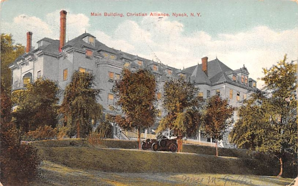 Main Building Nyack, New York Postcard