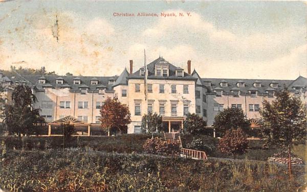 Christian Alliance Nyack, New York Postcard