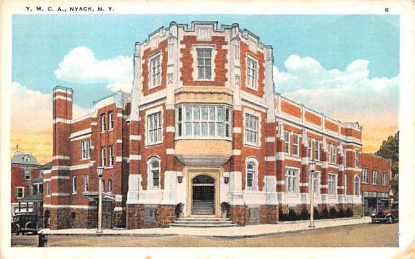 YMCA Nyack, New York Postcard