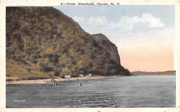 Hook Mountain Nyack, New York Postcard