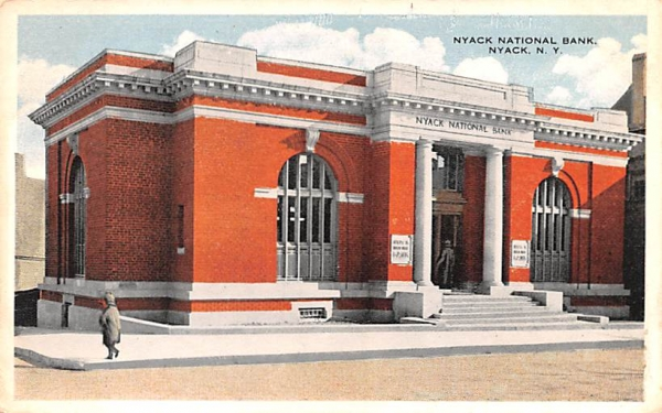 Nyack National Bank New York Postcard