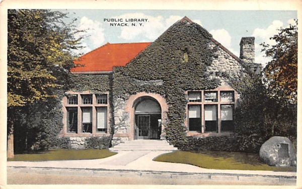 Public Library Nyack, New York Postcard