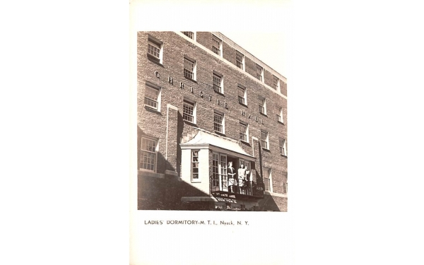 Ladies' Dormitory Nyack, New York Postcard