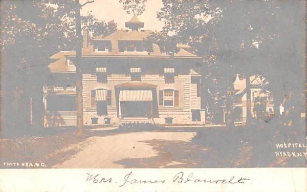 Hospital Nyack, New York Postcard