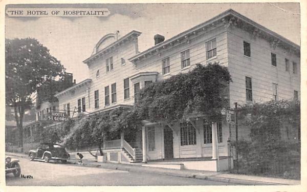 Hotel of Hospitality Nyack, New York Postcard