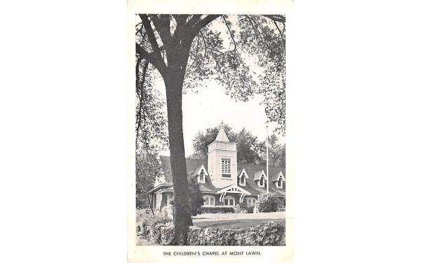 Children's Chapel Nyack, New York Postcard