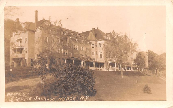 S Louise Jackson Nyack, New York Postcard