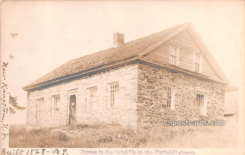 Scene in the Catskills - New Kingston, New York NY Postcard