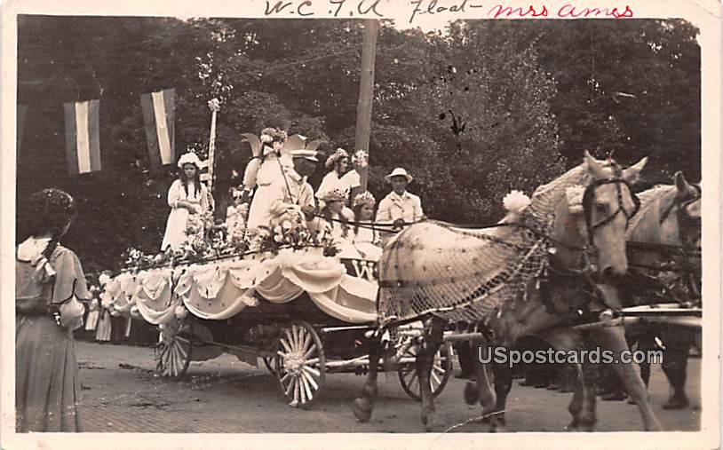 Horse and Carriage - Norwich, New York NY Postcard