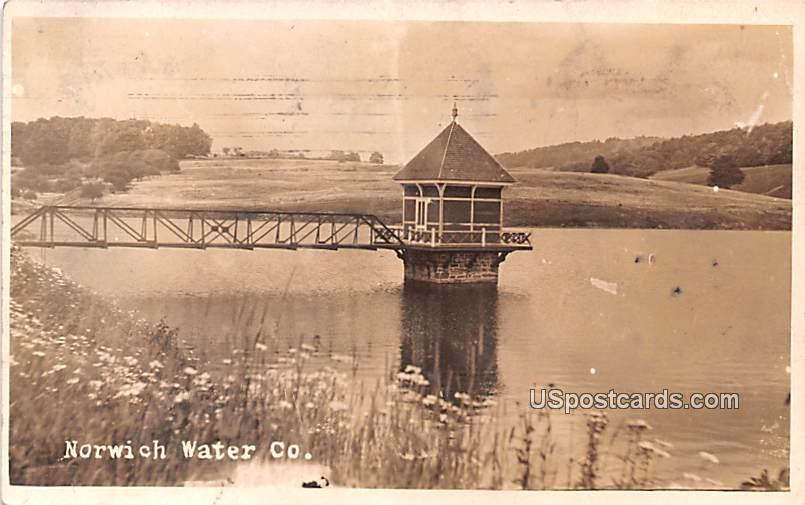 Norwich Water co - New York NY Postcard
