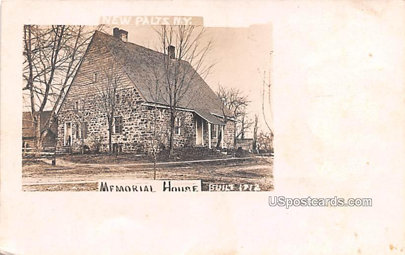 Memorial House - New Paltz, New York NY Postcard