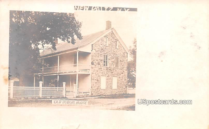 Old Dubois House - New Paltz, New York NY Postcard