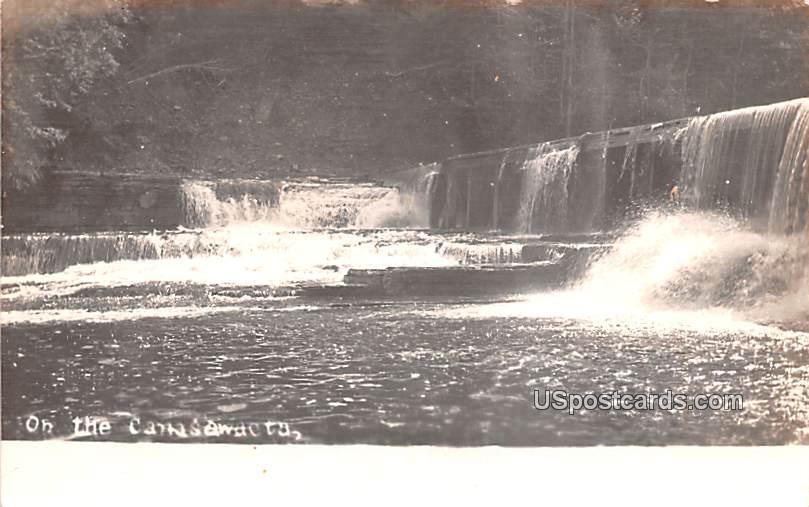 Waterfalls - Norwich, New York NY Postcard