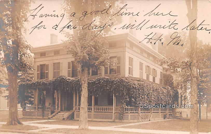 Residence - Norwich, New York NY Postcard