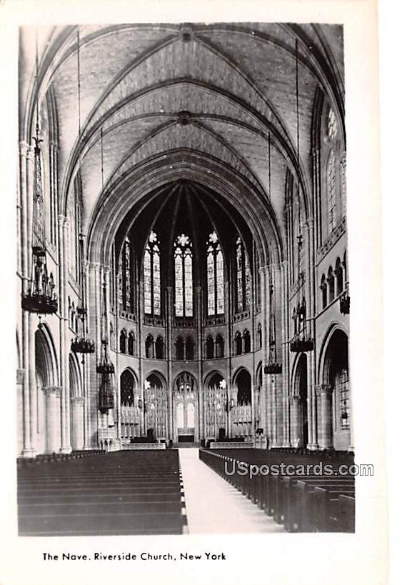 The Nave - New York City Postcards, New York NY Postcard