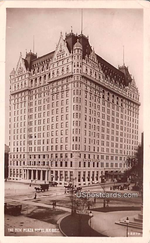 The New Plaza Hotel - New York City Postcards, New York NY Postcard