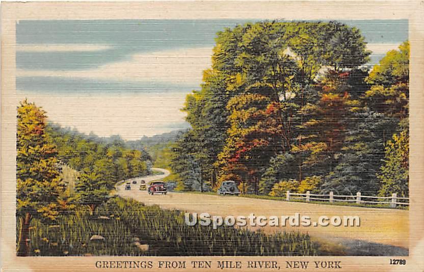 Gre - Narrowsburg, New York NY Postcard
