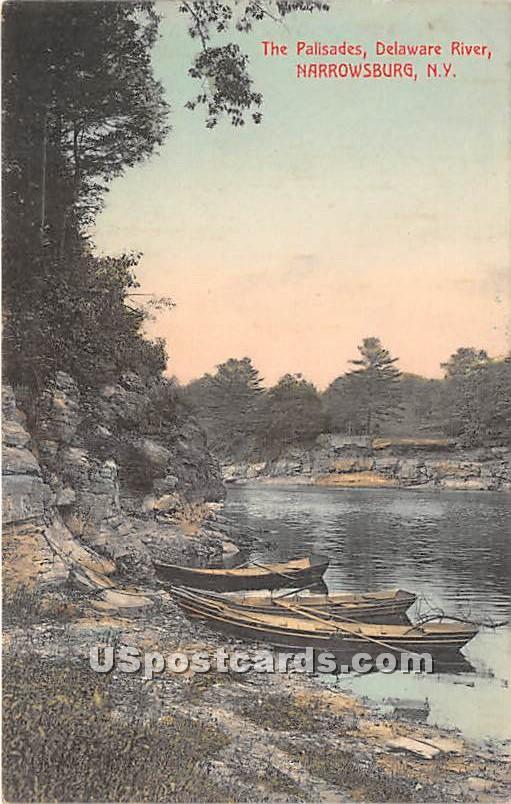 The Palisades - Narrowsburg, New York NY Postcard