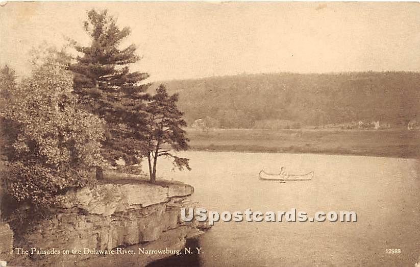 The Pa - Narrowsburg, New York NY Postcard