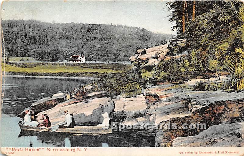 Rock Haven - Narrowsburg, New York NY Postcard
