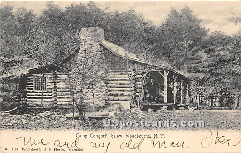 Camp Comfort - Neversink, New York NY Postcard