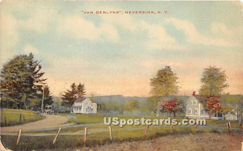 Van Derylns - Neversink, New York NY Postcard