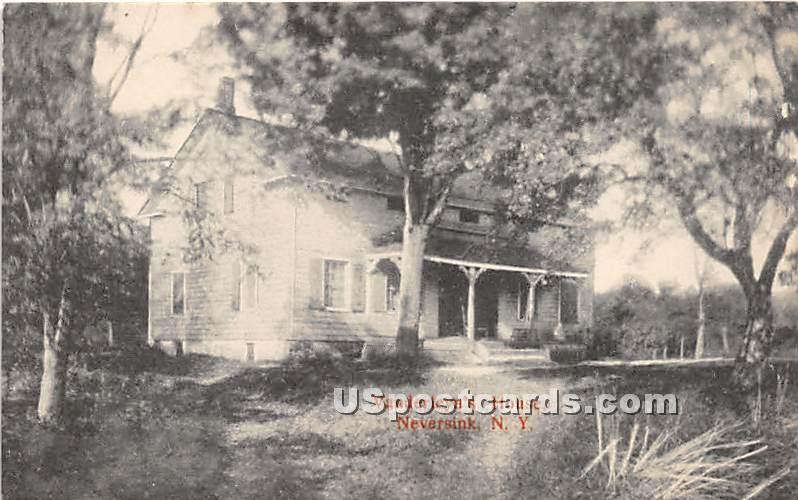 Vanderleyn's House - Neversink, New York NY Postcard