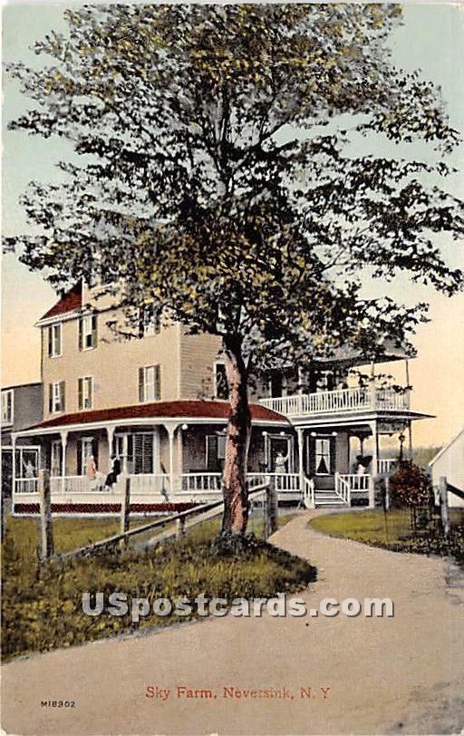 Sky Farm - Neversink, New York NY Postcard