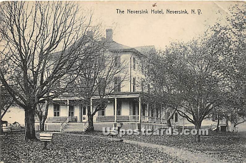Neversink Hotel - New York NY Postcard
