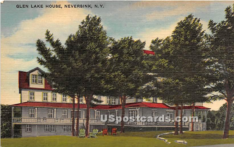 Glen Lake House - Neversink, New York NY Postcard