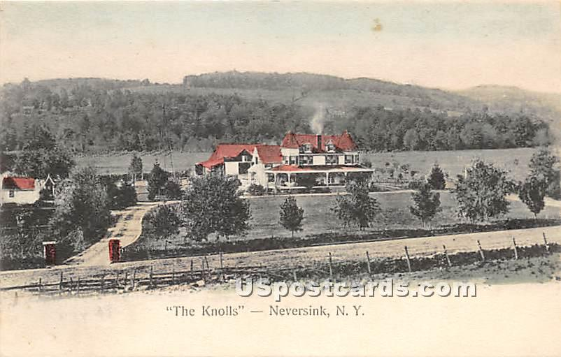 The Knolls - Neversink, New York NY Postcard