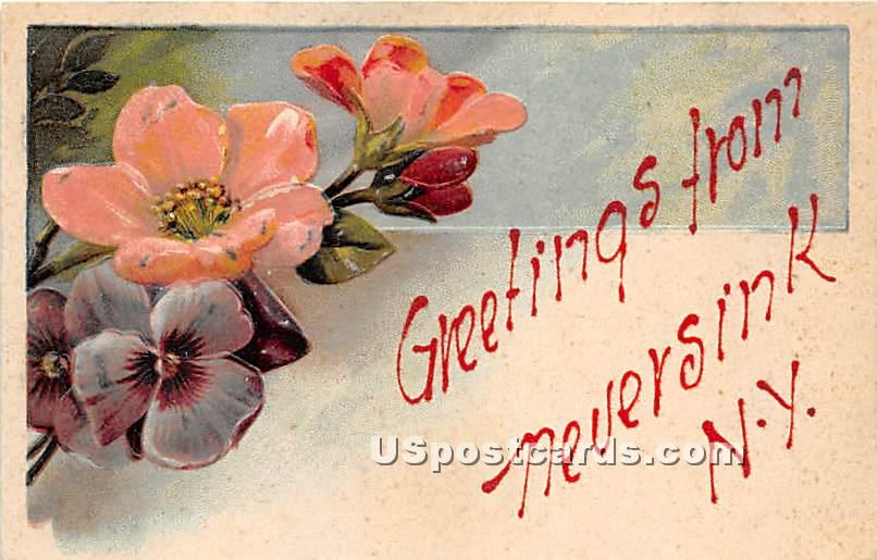 Greetings from - Neversink, New York NY Postcard