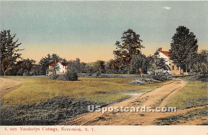 Vanderlyn Cottage - Neversink, New York NY Postcard